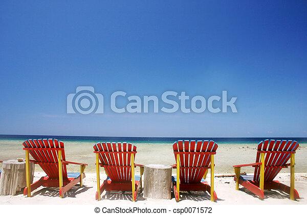 plage tropicale - csp0071572