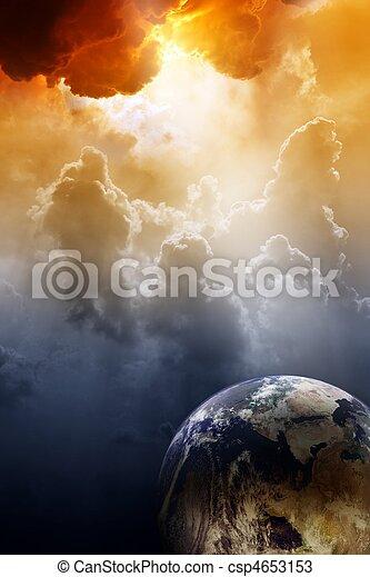 planète, danger - csp4653153