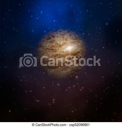 planète, galaxie, espace - csp52096861
