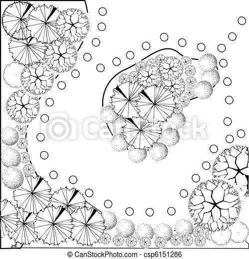 plan, paysage - csp6151286