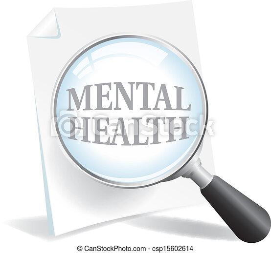 plus proche, prendre, santé, mental, regard - csp15602614
