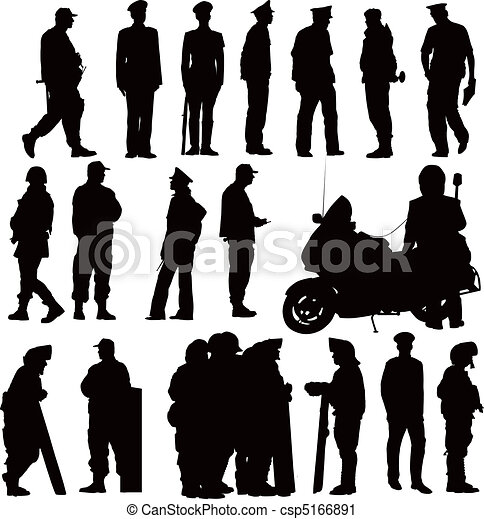 police, collection - csp5166891