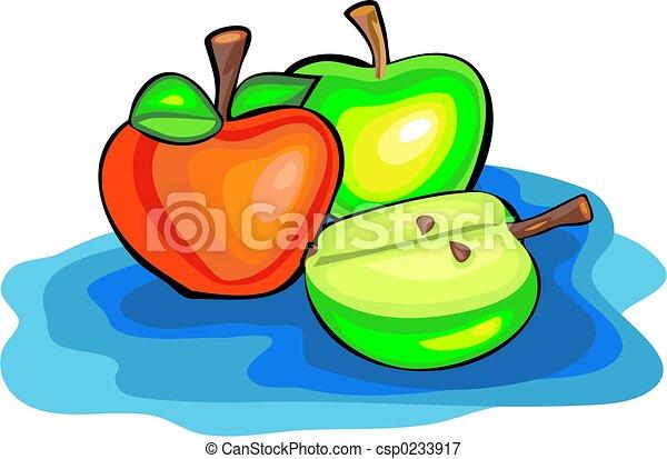 pommes - csp0233917