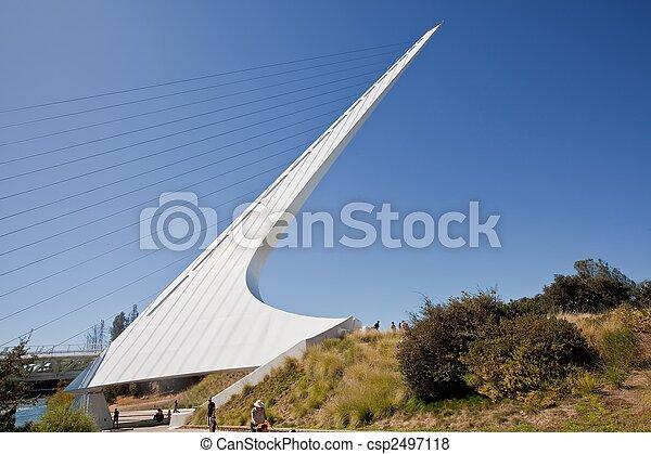 pont, cadran solaire - csp2497118