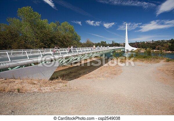 pont, cadran solaire - csp2549038