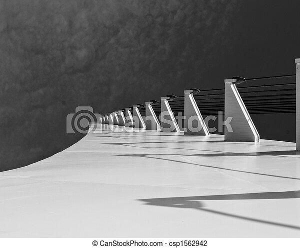pont, cadran solaire - csp1562942