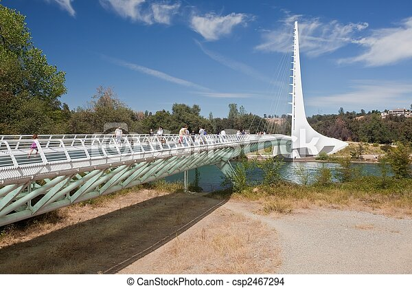 pont, cadran solaire - csp2467294