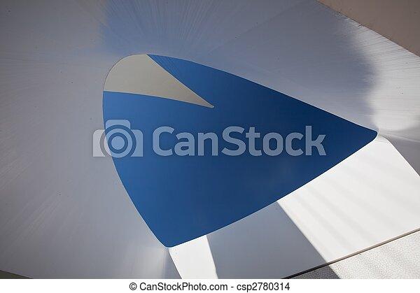 pont, cadran solaire - csp2780314