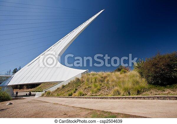 pont, cadran solaire - csp2504639