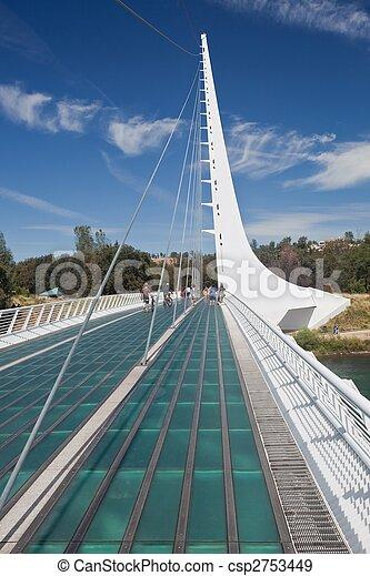 pont, cadran solaire - csp2753449