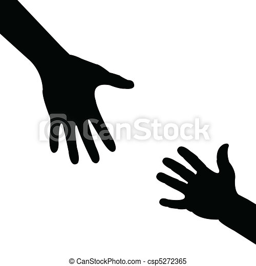 portion, silhouette, main - csp5272365