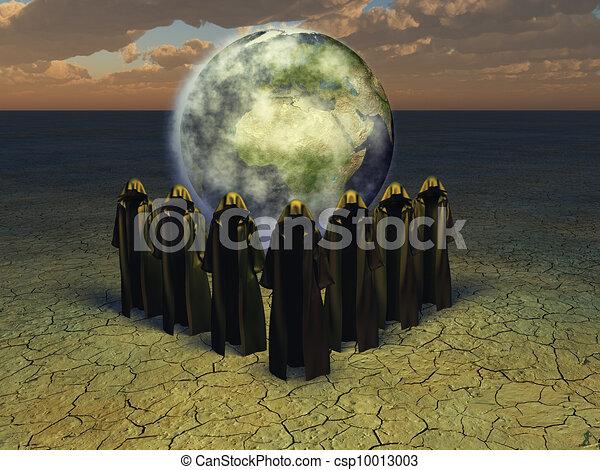prestidigitateur, prêtres - csp10013003