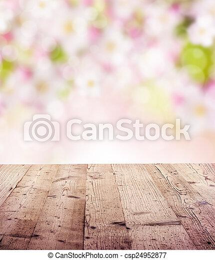 printemps, fond - csp24952877