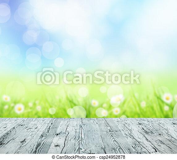 printemps, fond - csp24952878