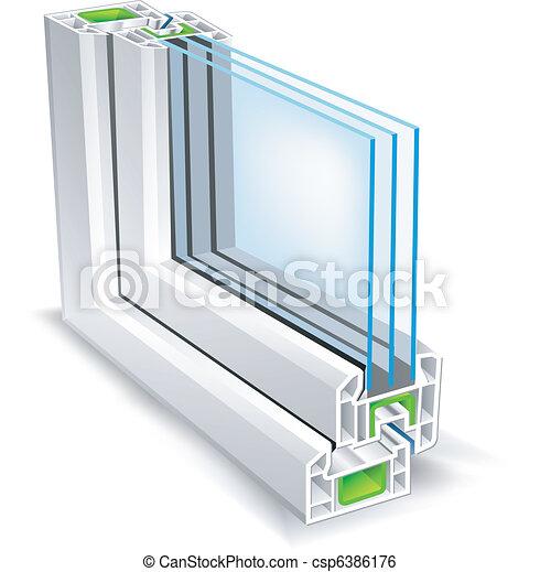 profil, fenêtre - csp6386176