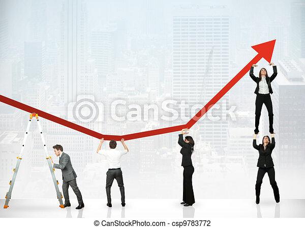 profit, collaboration, constitué - csp9783772