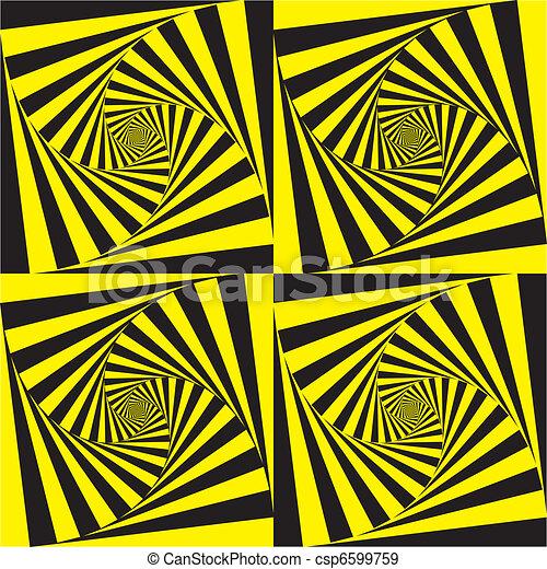 profond, hypnotique, spirales - csp6599759