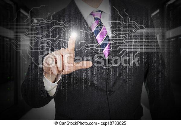 protection, données - csp18733825