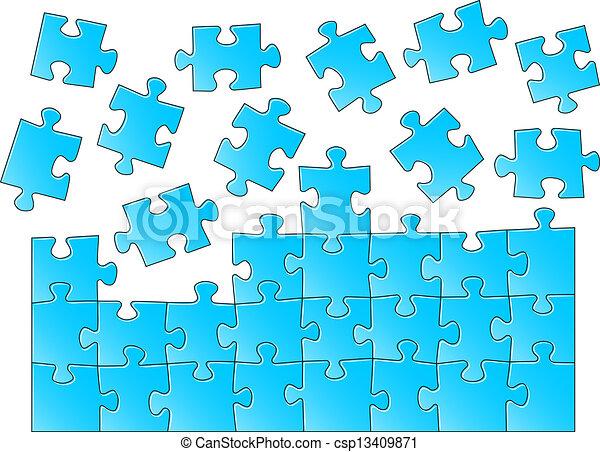 puzzle, puzzle - csp13409871