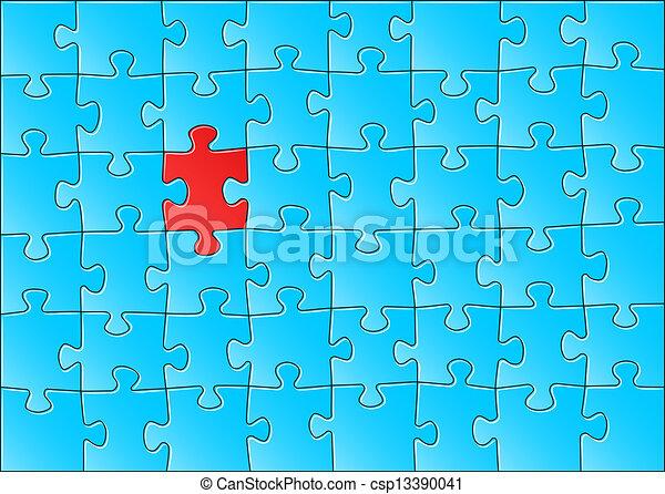 puzzle, puzzle - csp13390041