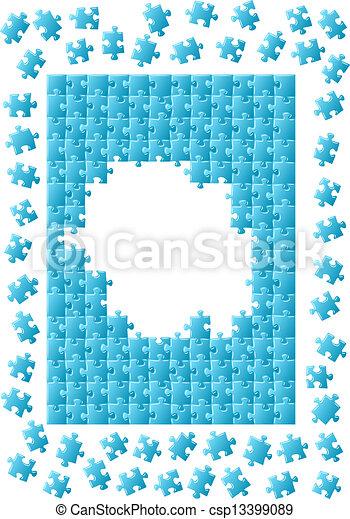 puzzle, puzzle - csp13399089
