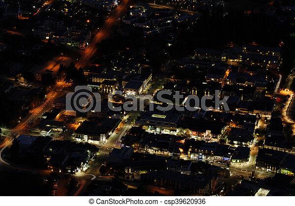 queenstown, nouvelle zélande - csp39620936