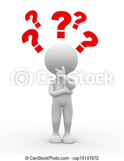 question, mark., confusion - csp15101672