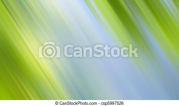 résumé, arrière-plan vert, nature - csp5997526