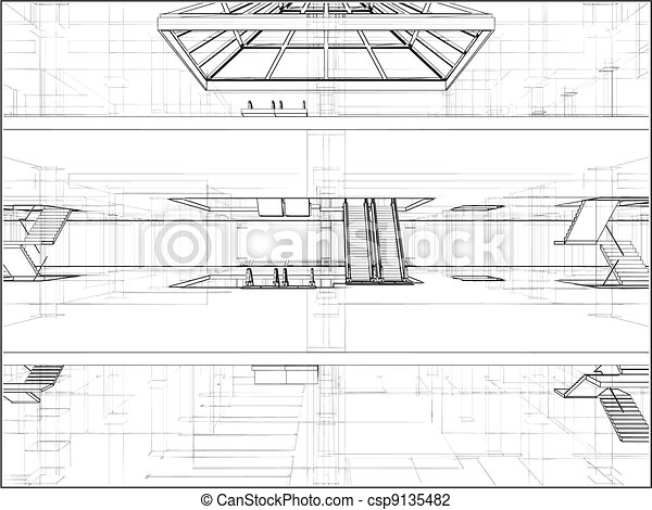 résumé, construction - csp9135482