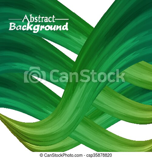 résumé, créatif, couleurs, arrière-plan vert, ton, design. - csp35878820