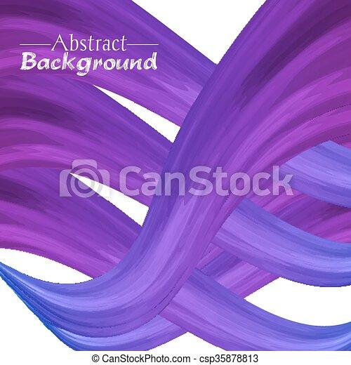 résumé, créatif, couleurs, fond, violet, ton, design. - csp35878813