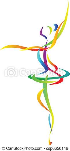 résumé, danseur, ballet - csp6658146