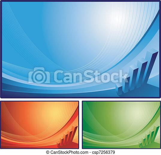 résumé, finance, fond - csp7256379