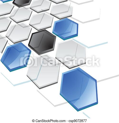 résumé, vecteur, technologie, fond - csp9072877