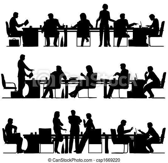réunion, business - csp1669220