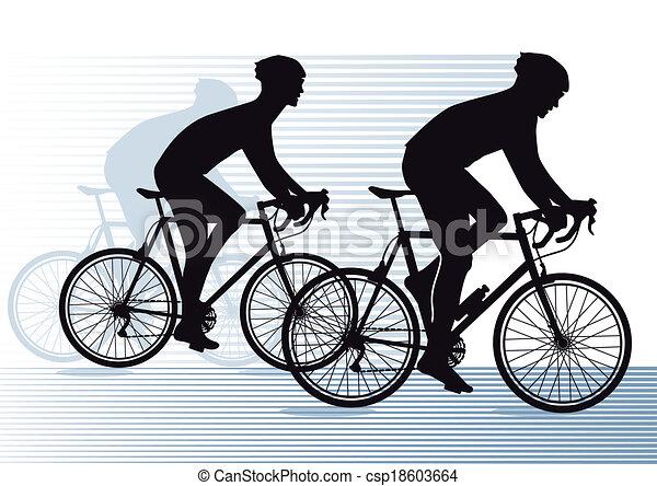 race vélo - csp18603664
