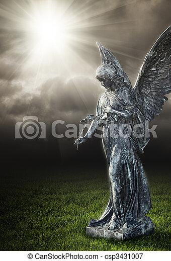religieux, ange - csp3431007