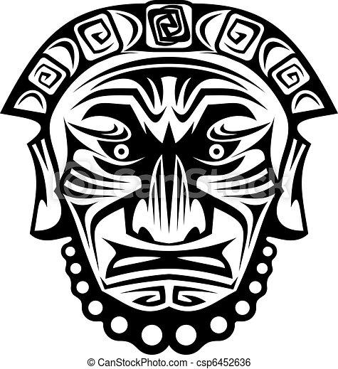religieux, masque - csp6452636