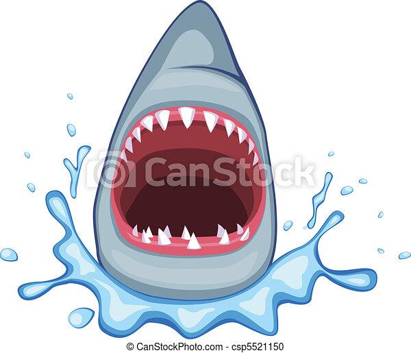 requin, vecteur - csp5521150