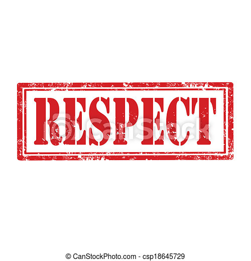 respect-stamp - csp18645729