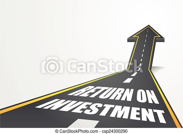 retour, investissement - csp24300290