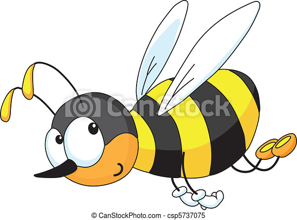 rigolote, abeille - csp5737075