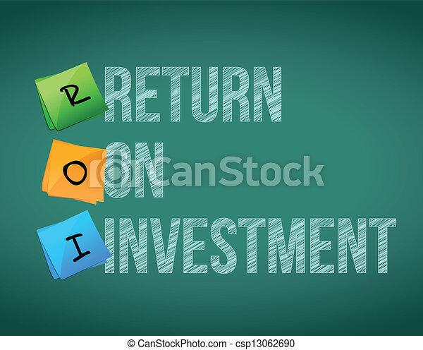 roi, -, retour, investissement - csp13062690
