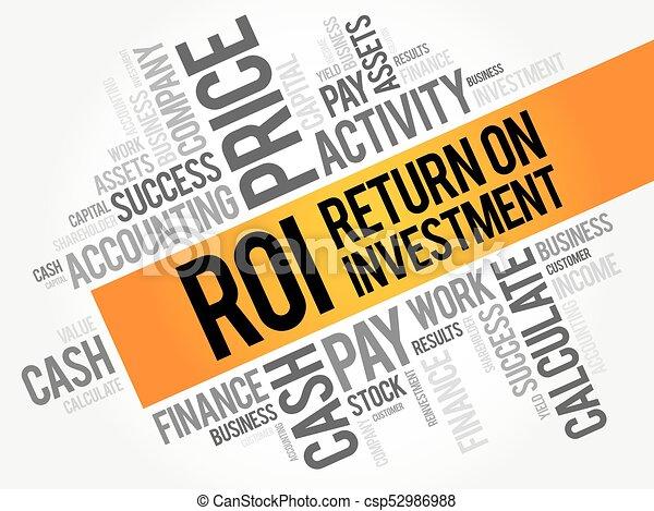 roi, -, retour, investissement - csp52986988