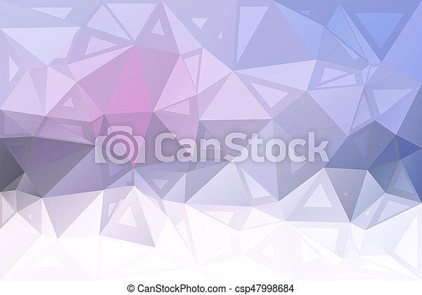 rose, tailles, aléatoire, gris, poly, bas, fond - csp47998684