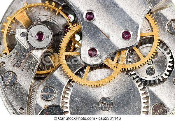 rouage horloge - csp2381146