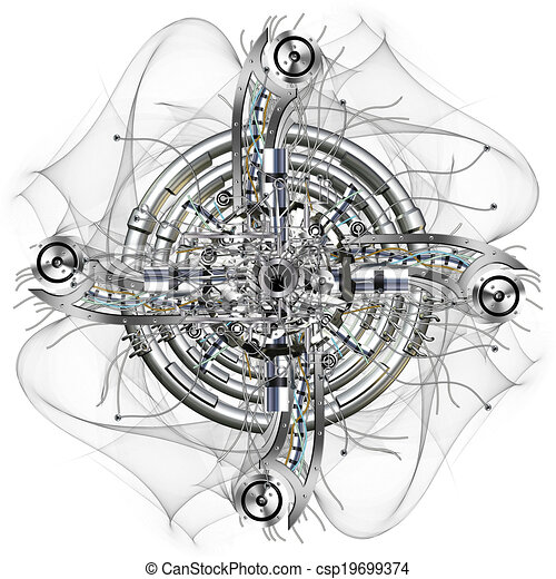 roue, temps - csp19699374