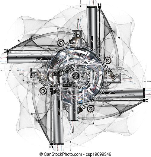 roue, temps - csp19699346
