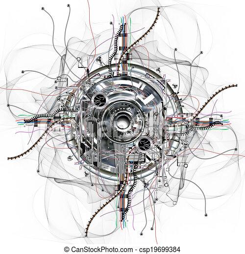 roue, temps - csp19699384