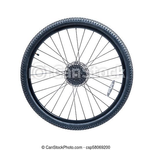 roue, vélo tout terrain, vélo - csp58069200